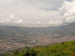 View Of Medellin From Regalo del Dios