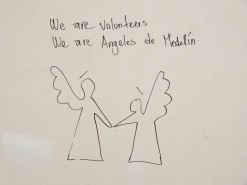 Volunteers At Angeles de Medellin