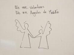 Volunteers At Angeles de Medellin