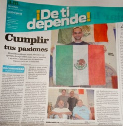 In A Mexican Newspaper