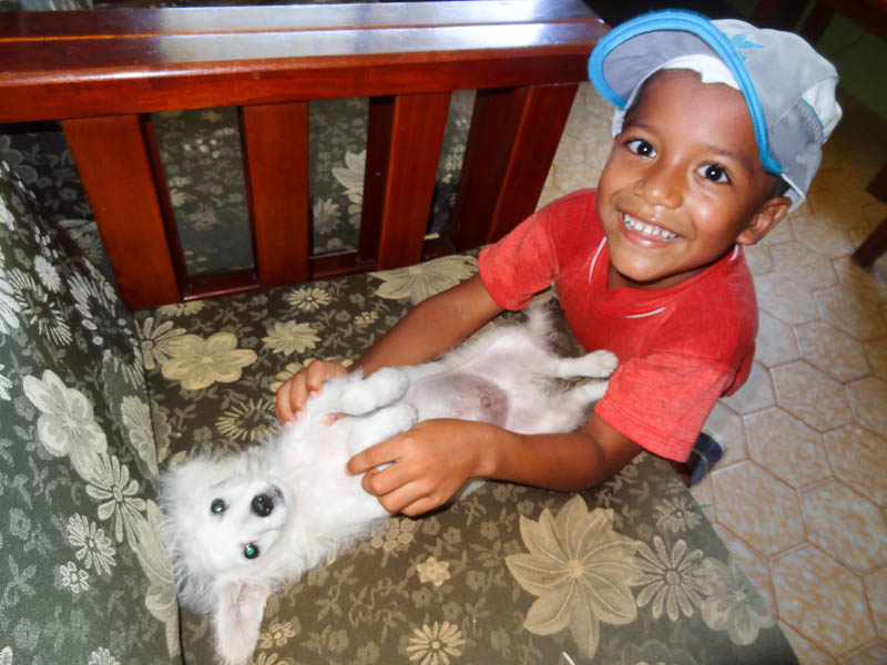 Man's Best Friend - Taken 29-Feb-2012 - The Aldea Orphanage, Atacames, Ecuador