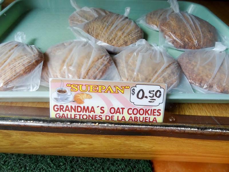 Grandma's Oatmeal Cookes - Taken 6-Mar-2012 - Baños, Ecuador