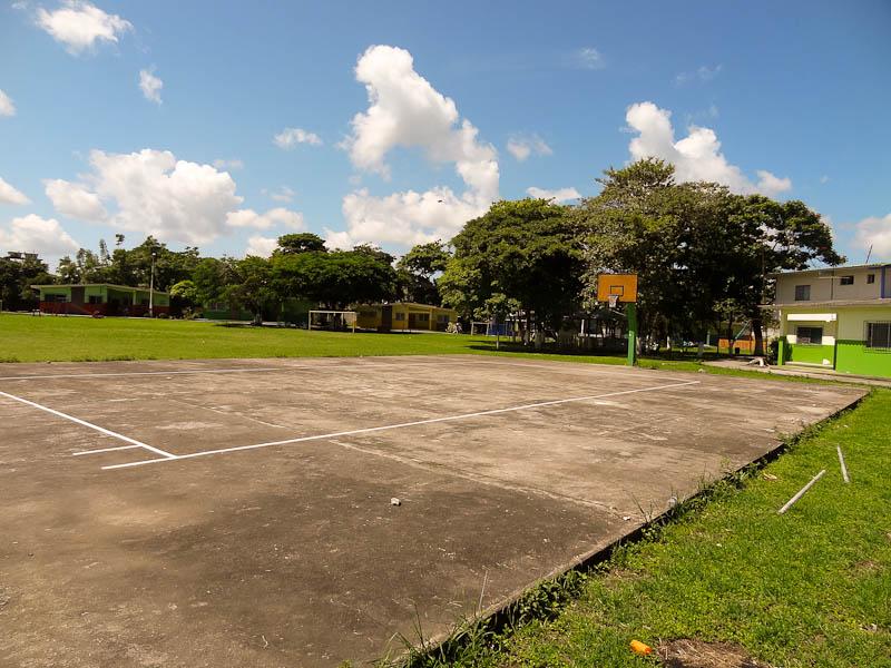 The Basketball/Soccer Court