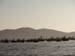 The Pacific Ocean From Chimbote - Overfishing Anyone?
