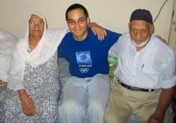 With My Wonderful Grandparents In Pakistan In 2005