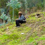 At One With Nature In The Peruvian Andes - Taken 9-Apr-2012 - Yauya, Peru