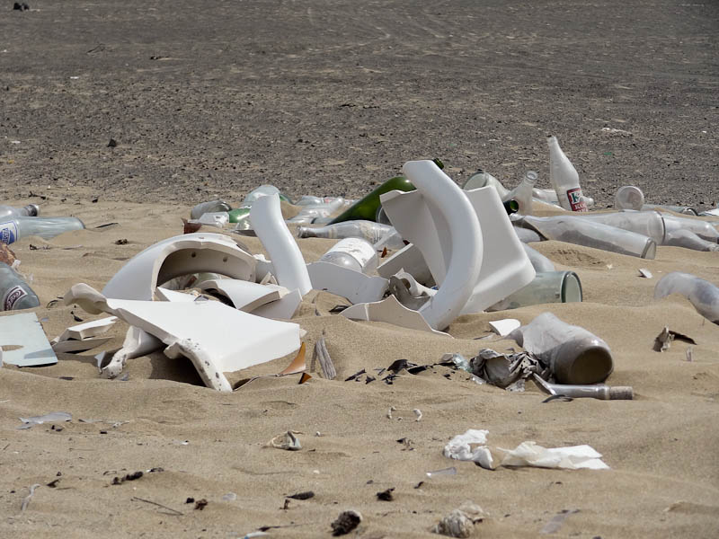 Garbage In The Desert