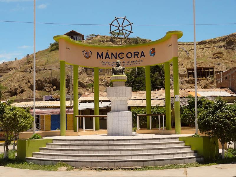 Mancora Monument