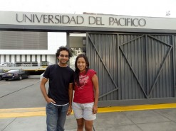 Me And Gigi At Her University