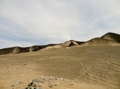 The Beautiful Desert With Garbage