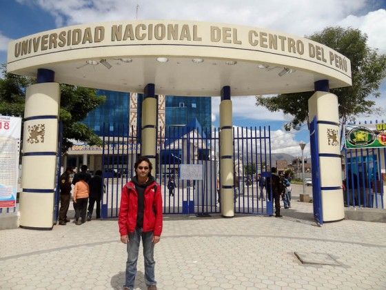 Me At University Of Central Peru