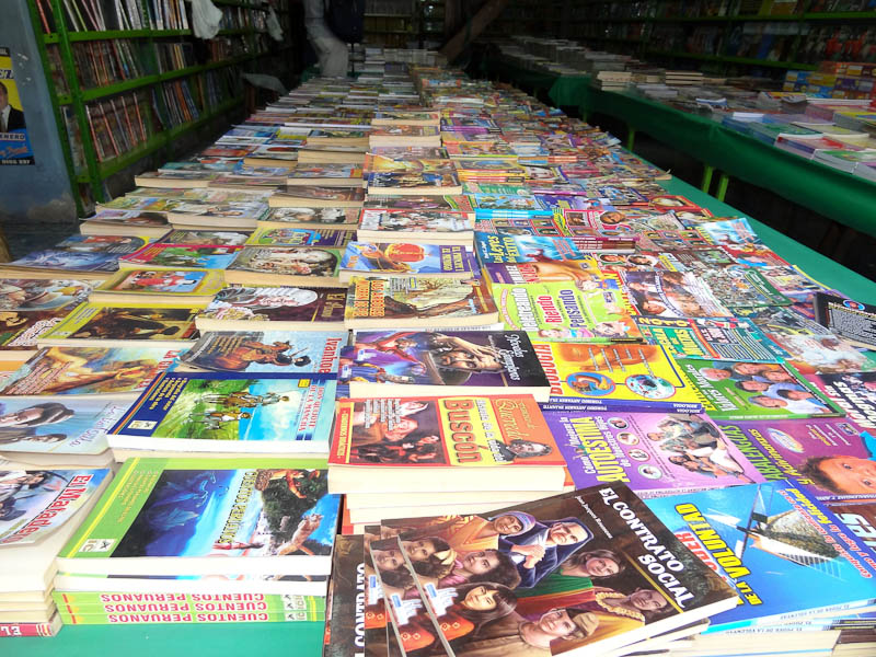 Books For Sale In Peru