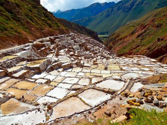 Pre-Incan Salt Ponds - Taken 3-May-2012 - Maras, Peru