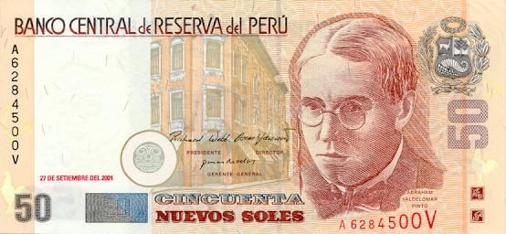 50 Peruvian Soles
