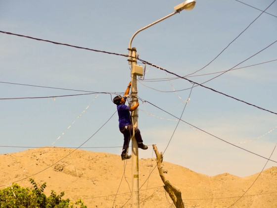 Fixing The Electric Lines