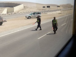 Highway Police Checking IDs