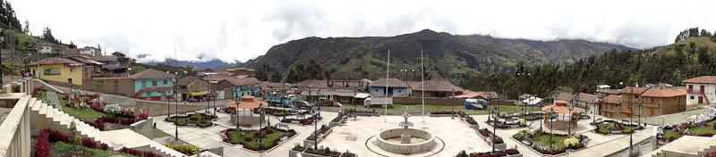 Plaza de Armas Panarama