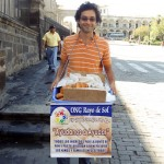 Volunteering With Rayo de Sol - Selling Bread In The Streets Of Arequipa, Peru
