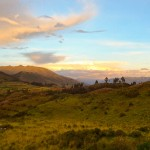 Photo Friday - A Sky That Glows - Puka Pukara, Cusco, Peru
