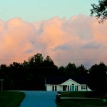 Photo Friday - Cotton Candy Clouds In Suburbia - Clayton, NC, USA