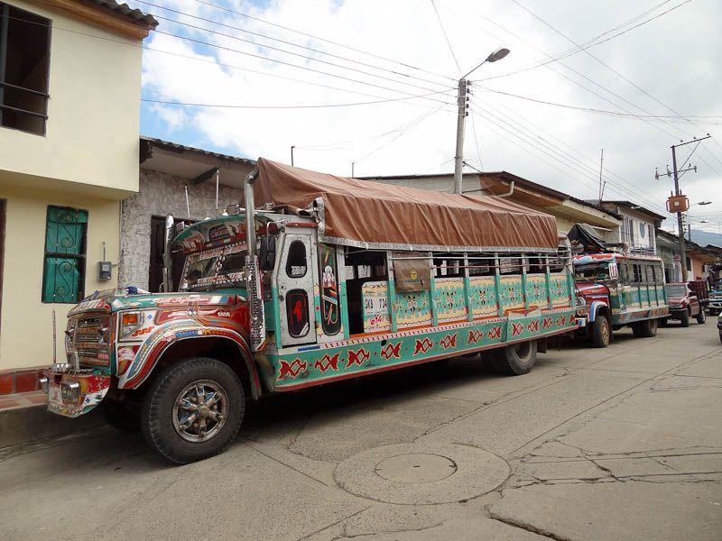 Chiva - Silvia, Colombia