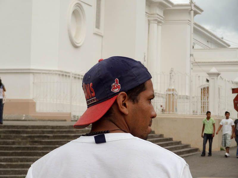 Cleveland Indians Hat - Matagalpa, Nicaragua