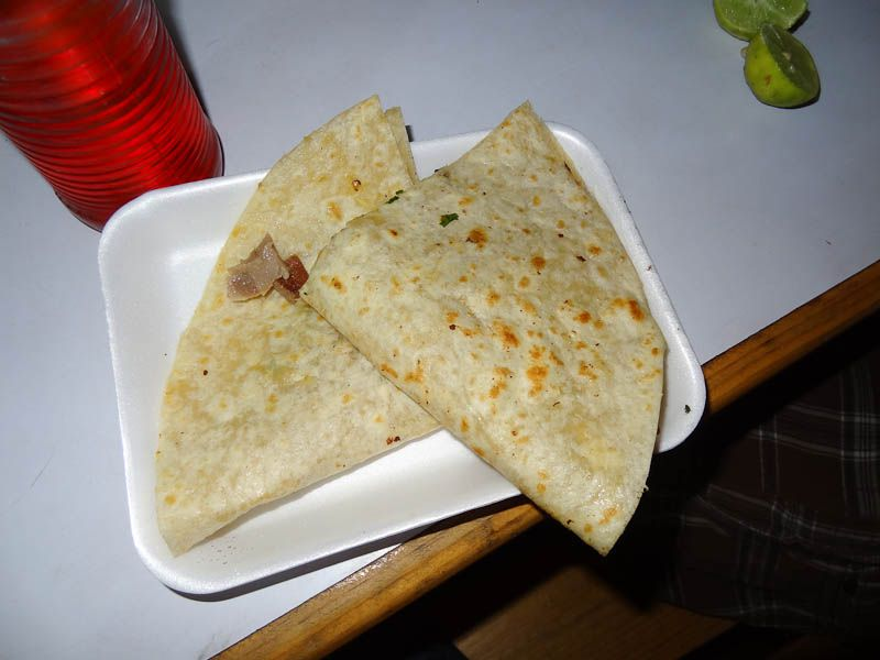 Cow Tongue Taco
