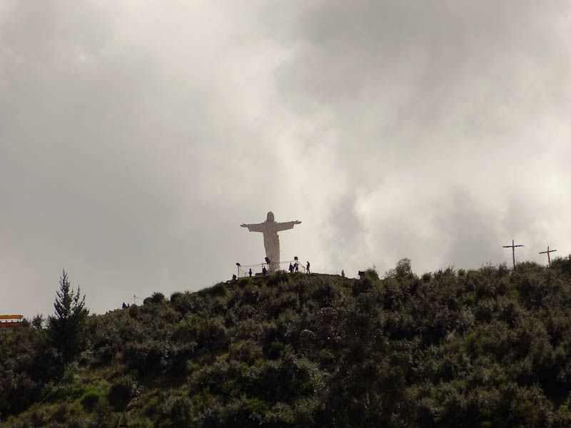 Cristo Blanco From The City