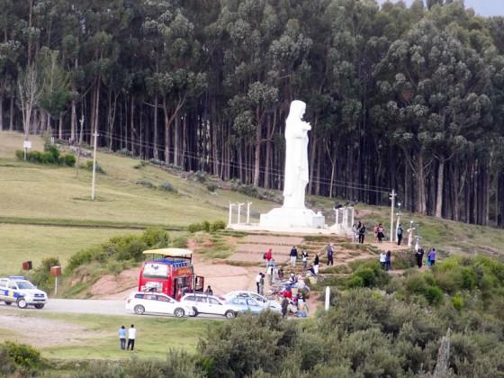 Cristo Blanco Statue Overlooking Cusco