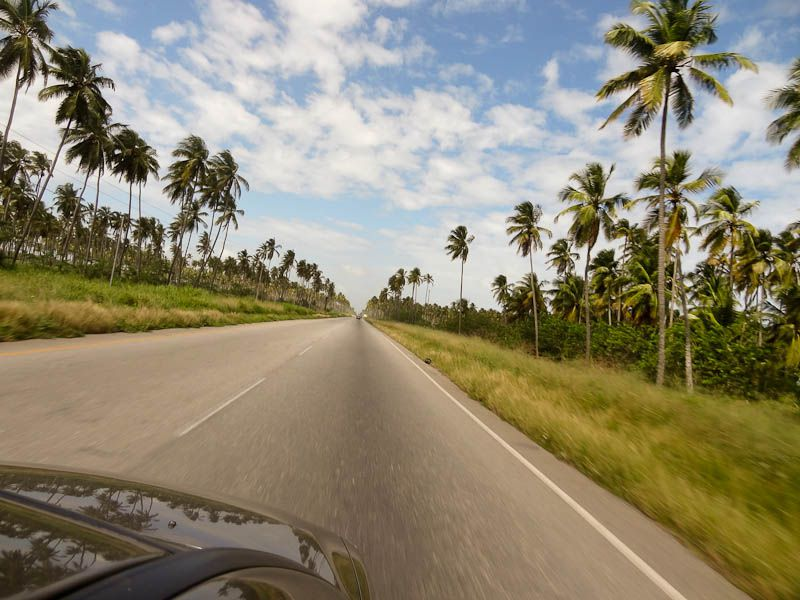 Driving To The Beach - Tucacas, Venezuela