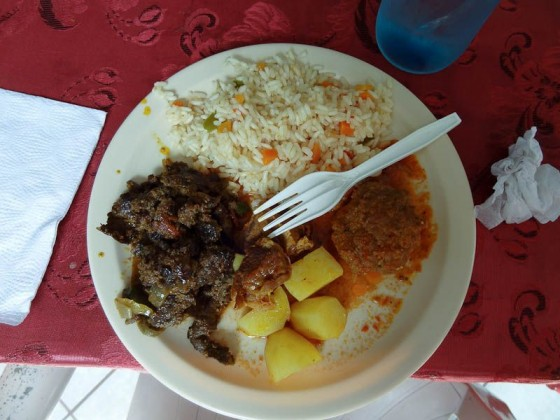 El Salvadoran Food