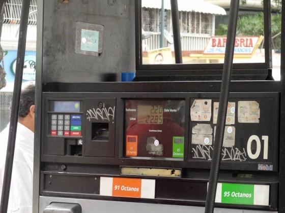 Essentially Free Gasoline - Caracas, Venezuela