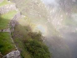 First Glimpses Of Machu Pichu