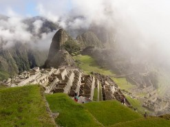 First Glimpses Of Machu Pichu