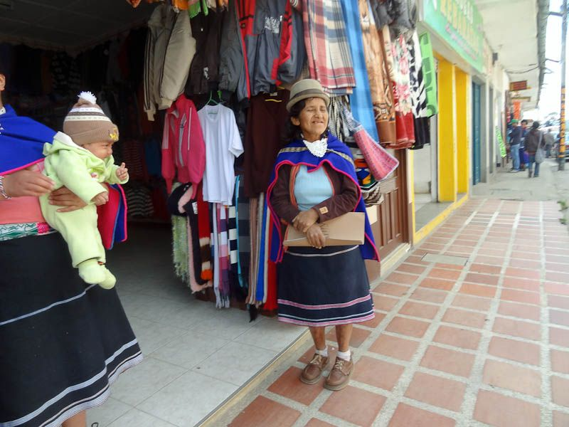 Guambiano Lady - Silvia, Colombia