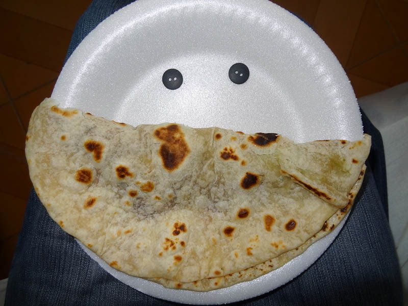 Happy Baleada In Honduras