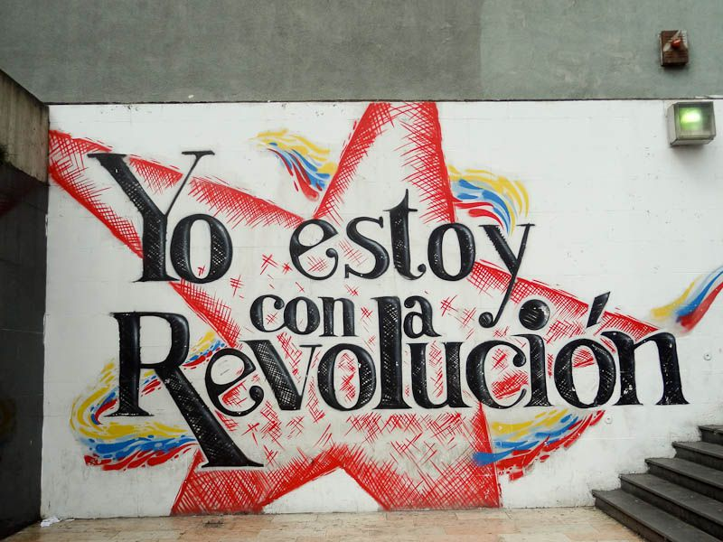 I Am With The Revolution - Caracas, Venezuela