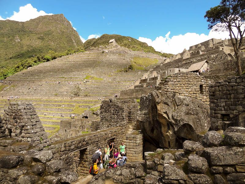 Inside Machu Pichu
