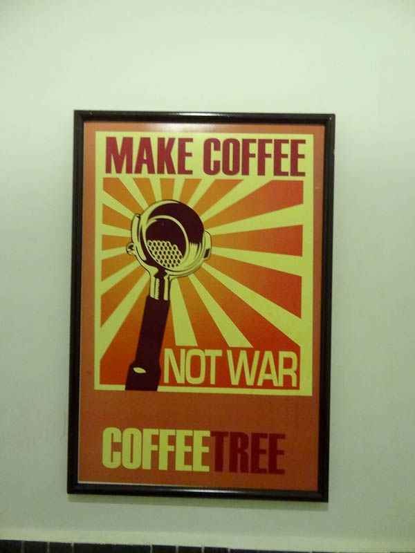 Make Coffee Not War - Cuenca, Ecuador