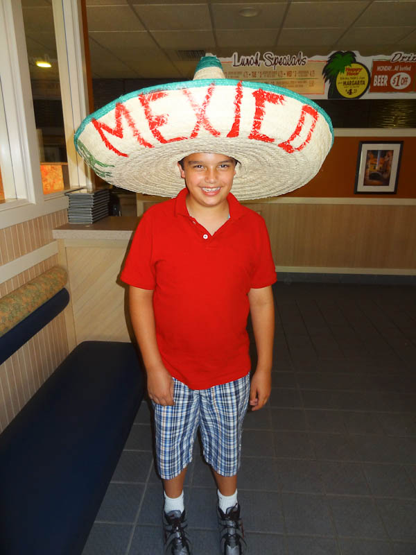 At A Mexican Restaurant