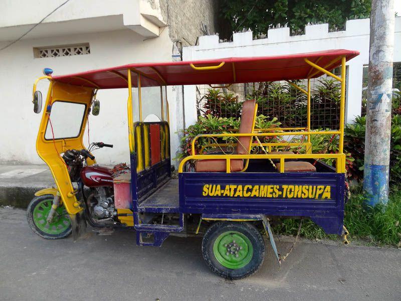 Motorcycle Taxi - Sua, Ecuador
