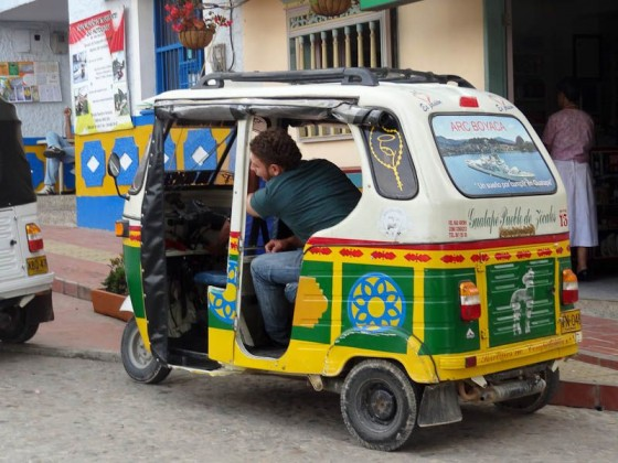 Motortaxi In Guatape, Colombia