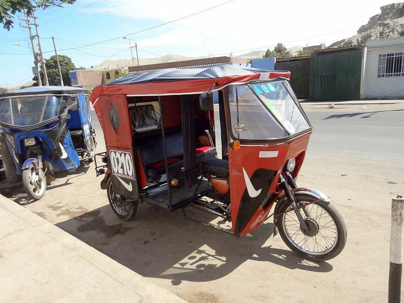 Nike Motortaxi - Casma, Peru
