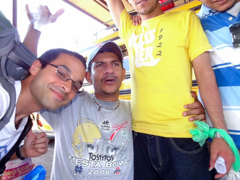 OSU Shirt At Bus Station - Managua, Nicaragua