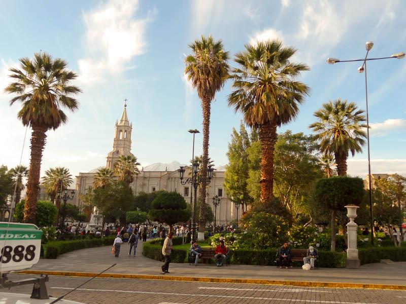 Plaza de Armas - Arequipa