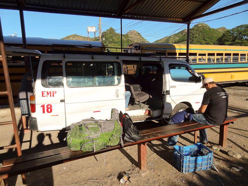 Shuttle To Nicaraguan Border