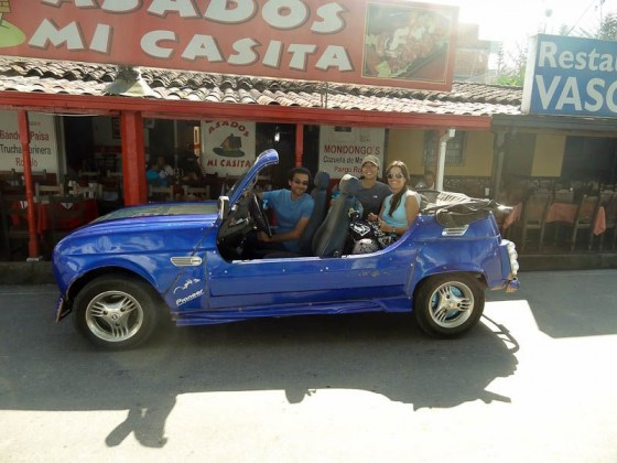 The Piedra-mobile - Guatape, Colombia