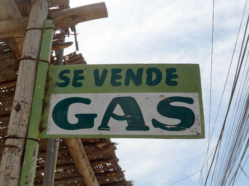 We Sell Gas - Casma, Peru