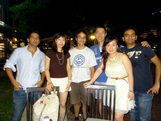 IE Reunion In Singapore