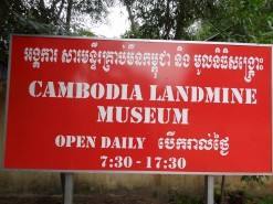 Cambodia Landmine Museum